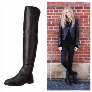 Penny Loves Kenny Dalton Black Boots Size 6